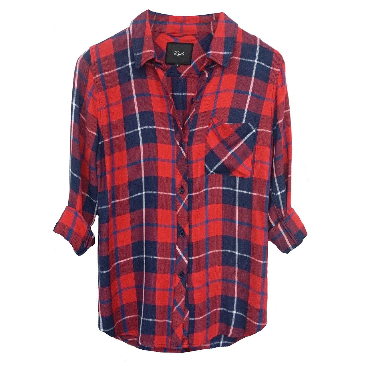 Check shirt, £140, Rails Clothing