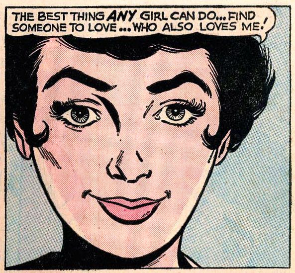 The best thing any girl can do | Girls' Love Stories #83 (1961)