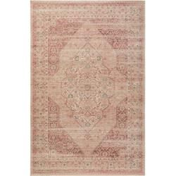 Photo of benuta Trends Flachgewebeteppich Frencie Rosa 240×340 cm – Vintage Teppich im Used-Look