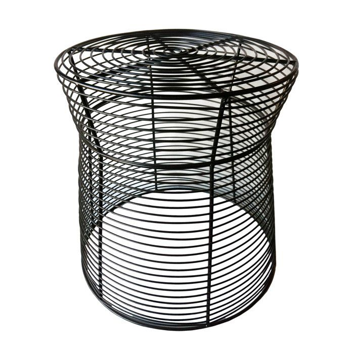Derose Metal Side Table Outdoor Wire Side Table