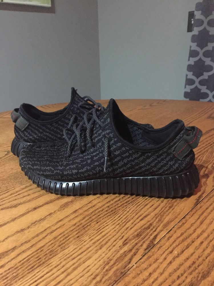 6ae92fd7f4f84 adidas Yeezy Boost 350 Pirate Black (2015) - size 10  fashion  clothing   shoes  accessories  mensshoes  athleticshoes (ebay link)