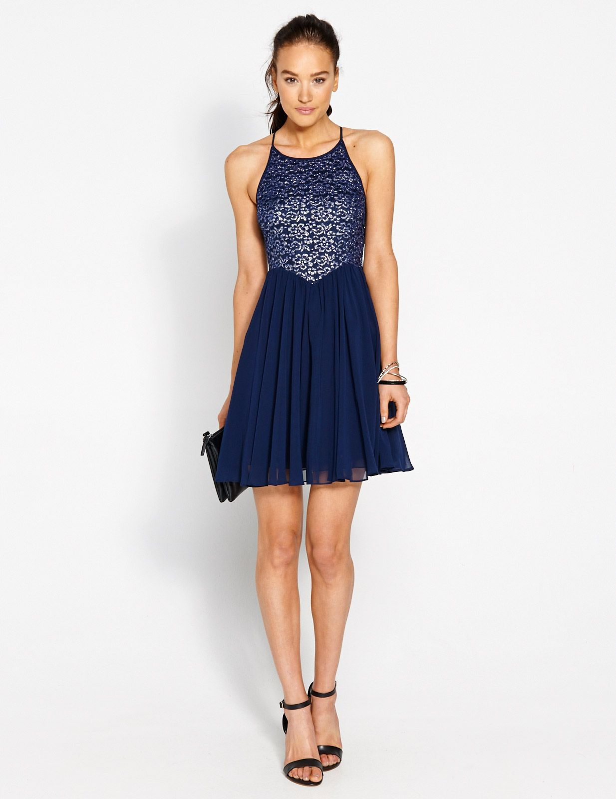 Image for Audrey Fit N Flare Dress from Dotti NZ | Formal Dress ...