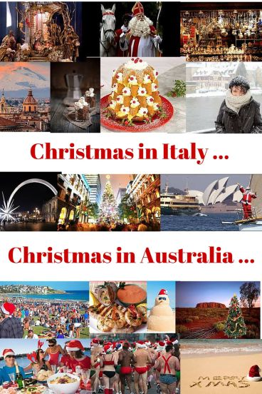 Christmas in Italy and Australia