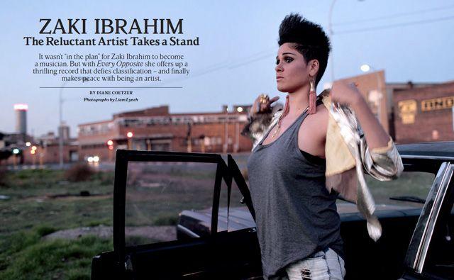 Toronto's Zaki Ibrahim in Rolling Stone Magazine! Holy shit!