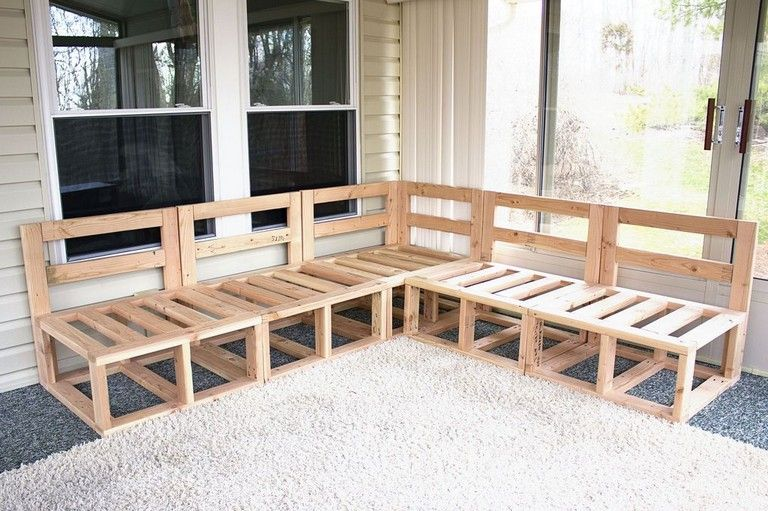 21 comfy shape pallet couch designs for outdoor seating