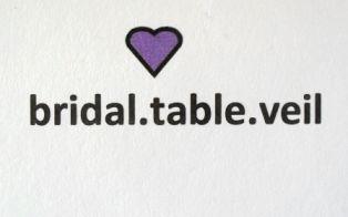 Facebook https://www.facebook.com/bridal.table.veil