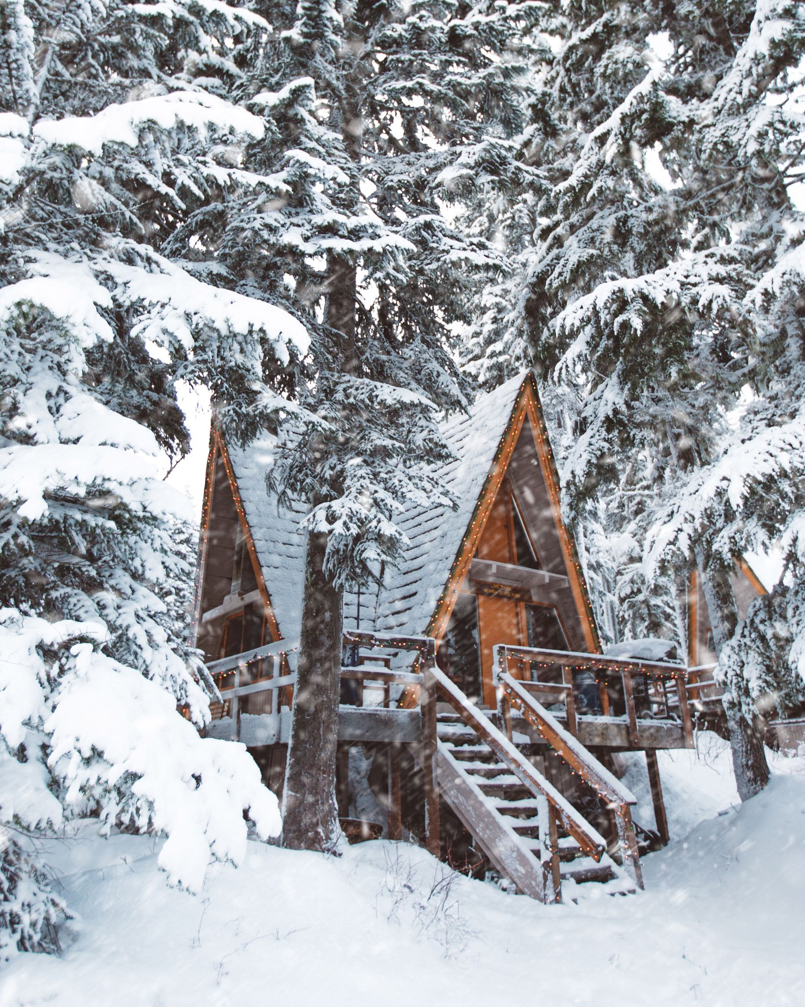 Winter escape usa by kyle kuiper on 500px winter wonderland pinterest invierno caba as y - Cabana invierno ...
