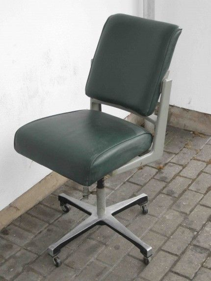 1960s office swivel chair Pigeon Vintage Furniture Lets hear