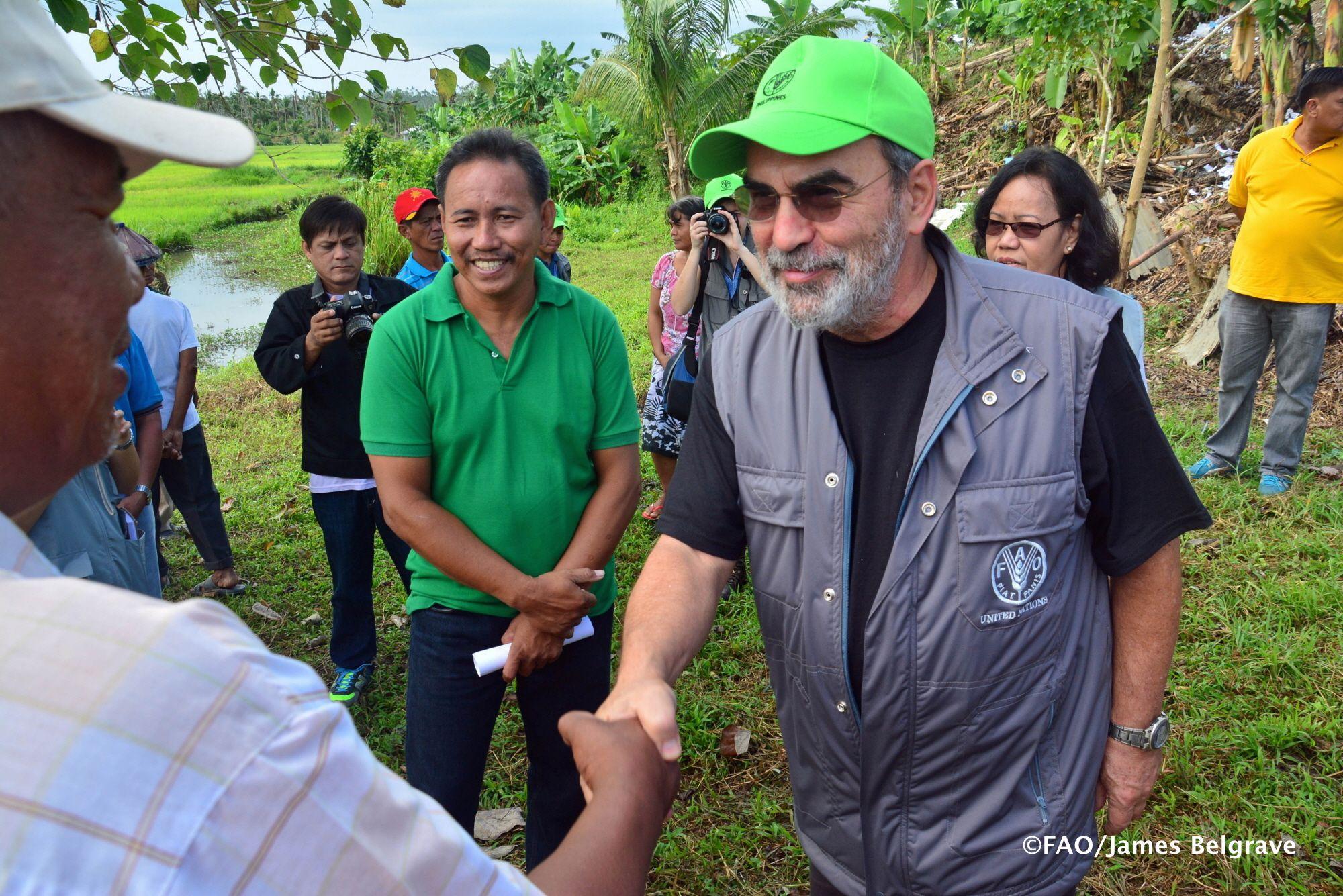 The FAO Jose' Graziano da Silva visited