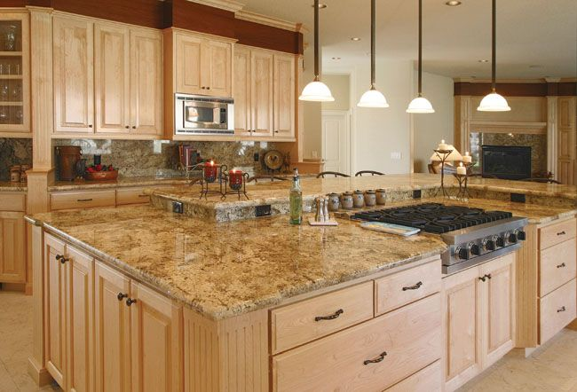 We love this island countertop from Stone Design in the #Cincinnati area. #housetrends http://www.housetrends.com/specialist/Stone-Design