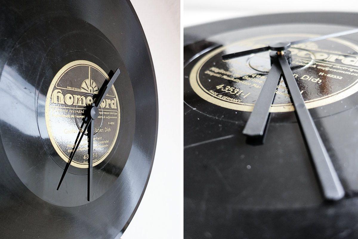 diy diy various pinterest schallplatten alte schallplatten und diy uhr. Black Bedroom Furniture Sets. Home Design Ideas