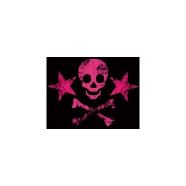 Pink skull image by toxicbutterfly_eli on Photobucket ❤ liked on Polyvore featuring backgrounds, skulls, fundos, pictures and pink