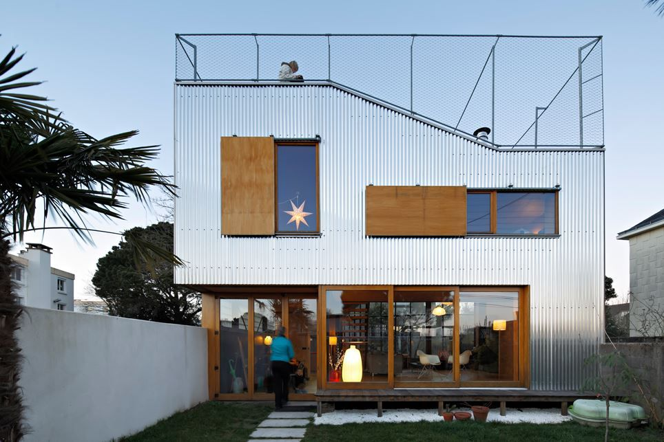 House Extension In Nantes - Picture gallery