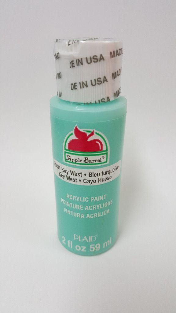 Apple Barrel 21481 Key West Acrylic Paint 2 fl oz (With