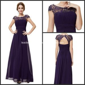 Purple Lace Chiffon Formal Bridesmaid Dresses P14944 - China ...