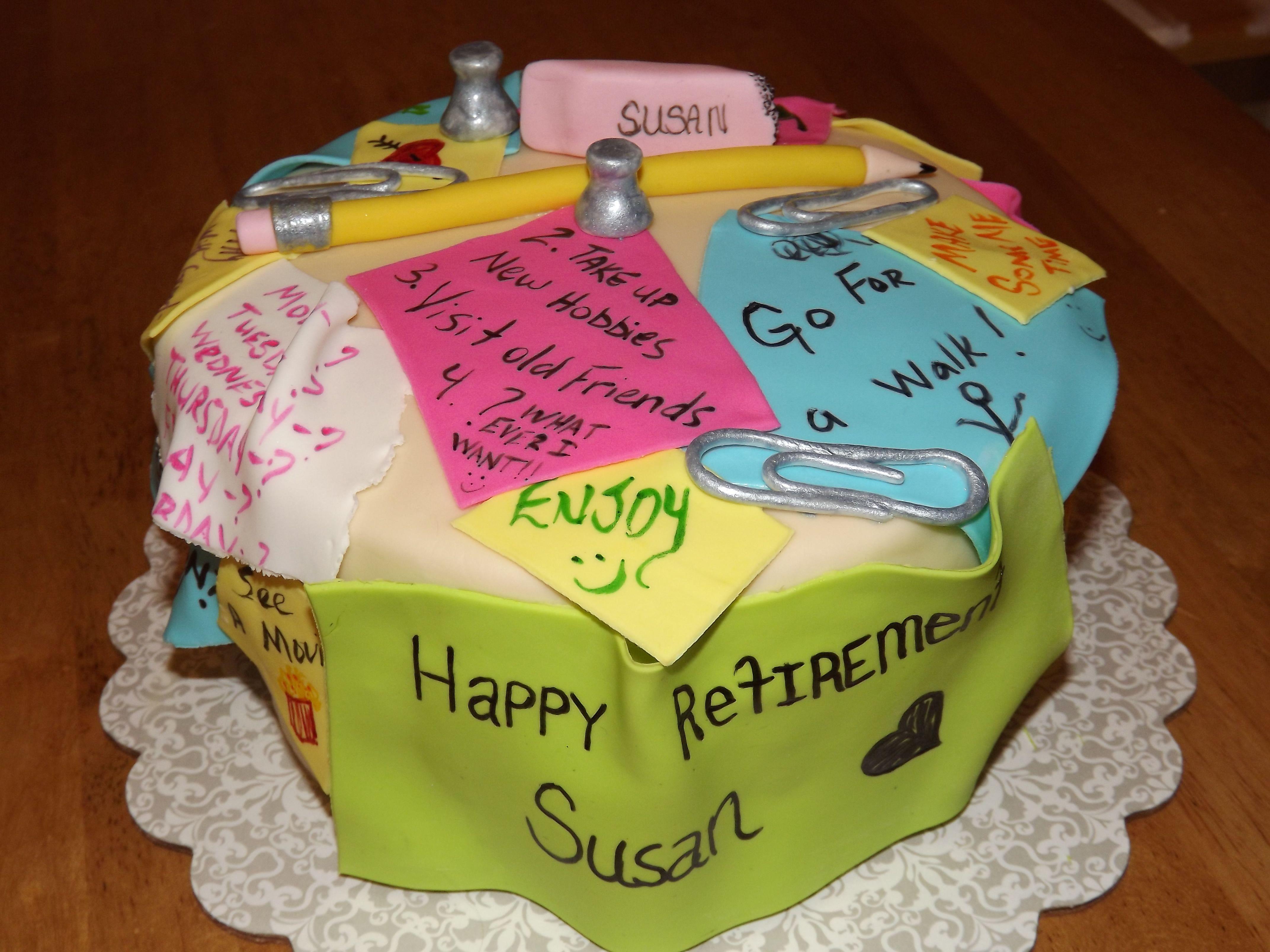 Retirement Cake Ideas Google Search Retirement Party Cakes