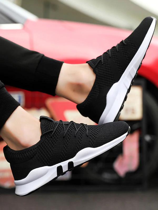 Men Lace-up Mesh Sneakers | Sneakers