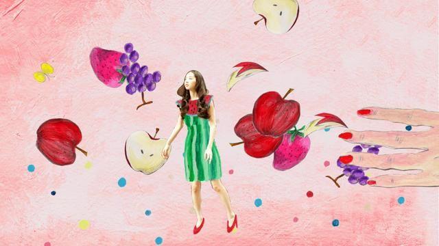 Magique Du Papillon by BUILDING. Illustration & Motion Graphics by Haruka Toshimitsu http://www.bldg-jp.com/t/HarukaToshimitsu/