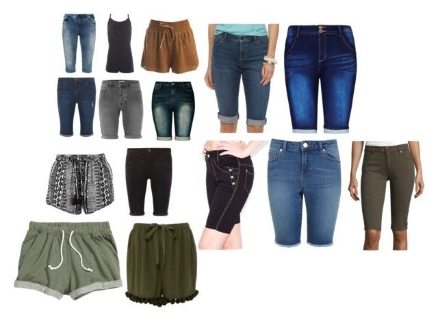 """""""shorts"""" by fashiongirlstyle666 ❤ liked on Polyvore featuring City Chic, Sans Souci, Zizzi, Dorothy Perkins, Chaps, Indero, Miss Selfridge, i Jeans by Buffalo and Figue"""
