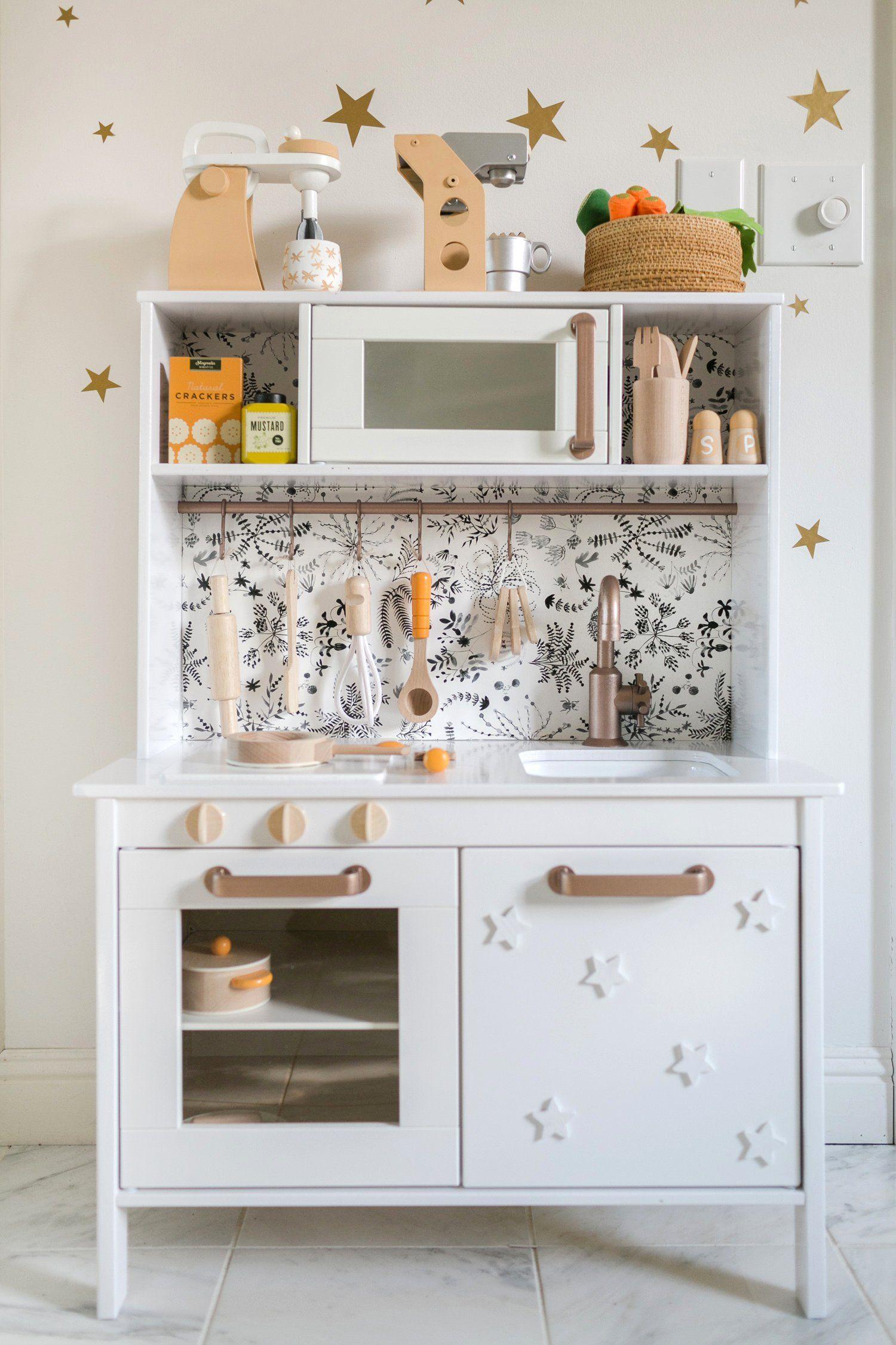 Nova's Play Kitchen (IKEA Hack (With images) Ikea play