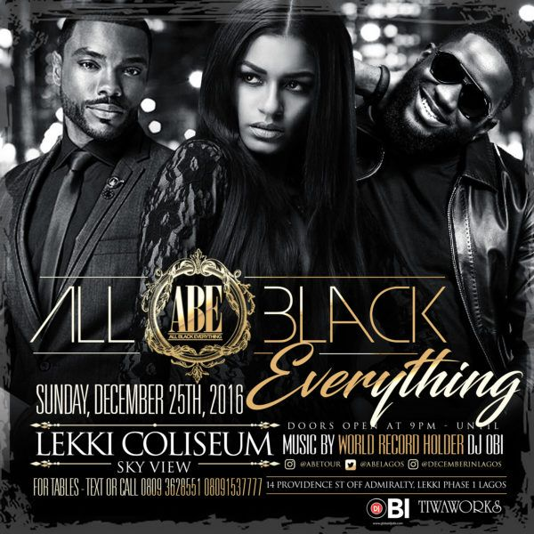 the all black everything party is back party with hennessy nigeria