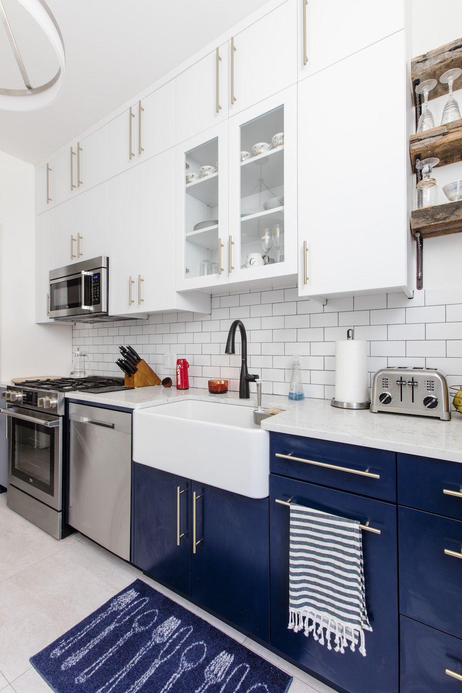 A Bright Brownstone Kitchen Renovation In Prospect Lefferts Gardens Kitchen Renovation Brooklyn Kitchen Contemporary Kitchen
