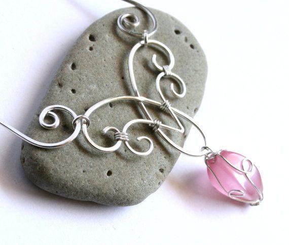 Elfen Charm Halskette elegante Swirl von FantasiaElegance auf Etsy ...