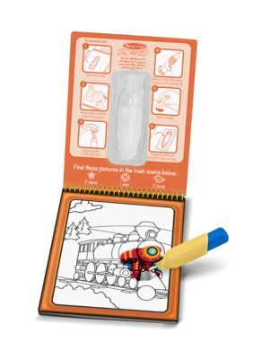 Melissa and doug water coloring book