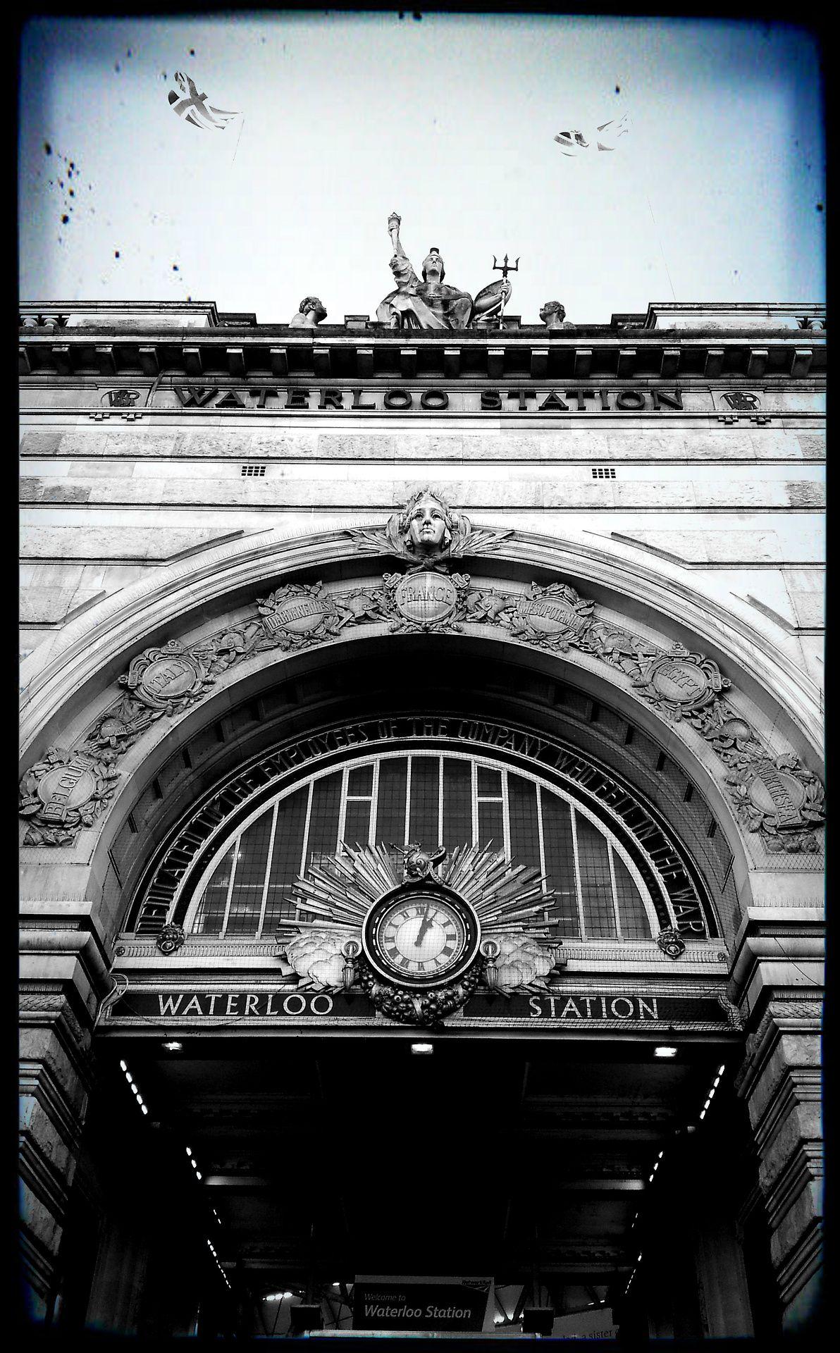 Waterloo Station   Waterloo station, Westminster bridge ...