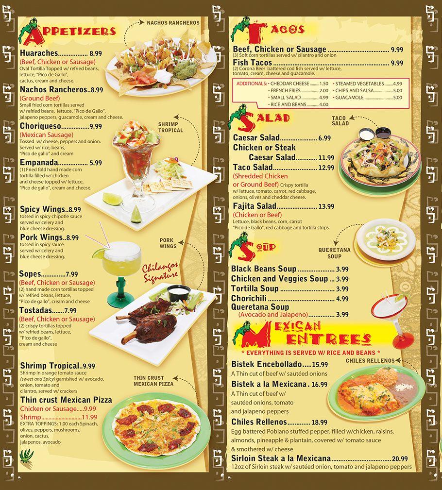 Doc52753475 Restaurant Menu PM Restaurant Menu Menu for PM – Restaurant Menu