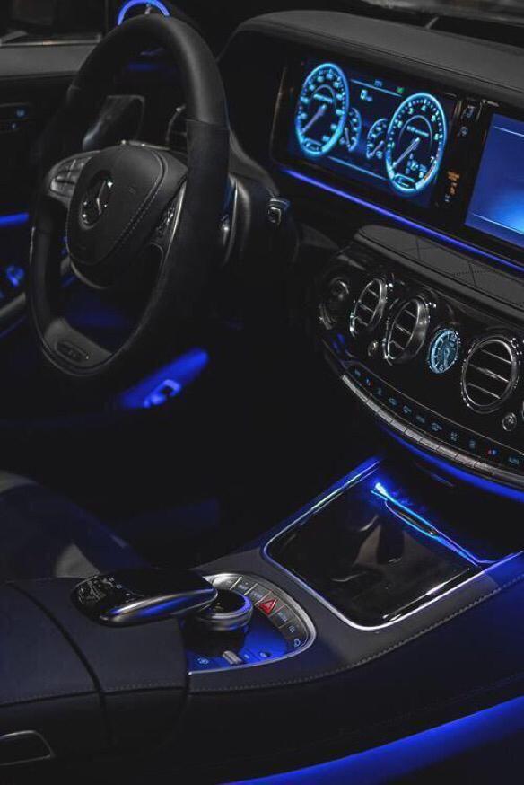 23 Interior Led Lights To A Car Mit Bildern Autos Benz