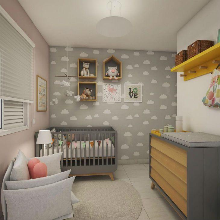 Resultado de imagem para quarto de bebe Projetos atemporais