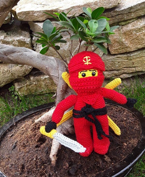 Häkelanleitung Für Einen Ninja Häkeln Pinterest Amigurumi And