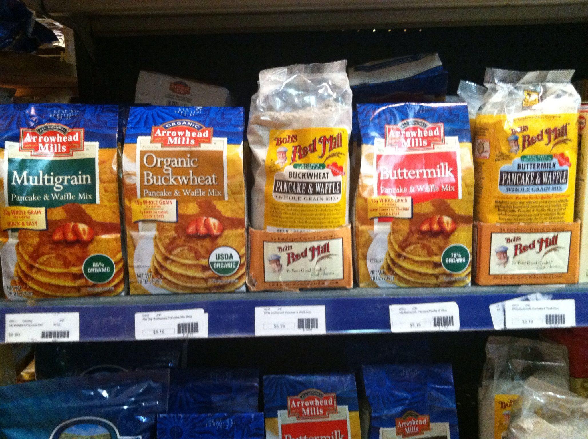Our pancake mixes!