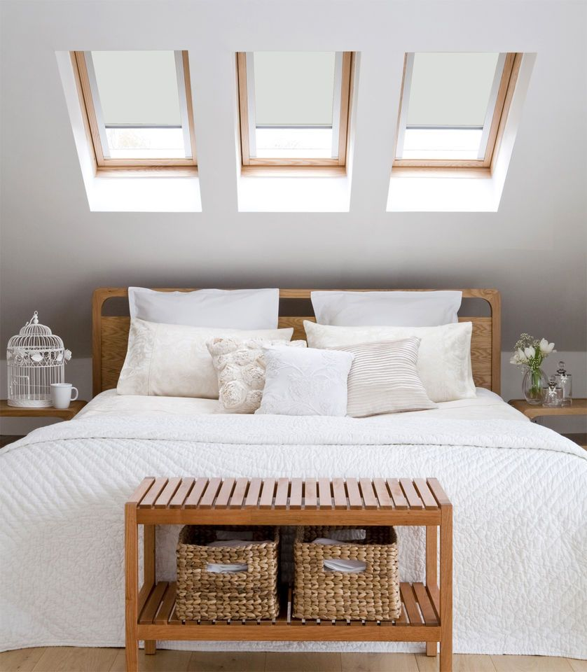 Simple Bedroom Wall Decor Bedroom Wall Decor Ebay Contemporary Bedroom Cupboards Colours Of Bedroom Walls: Blackout Roof Blind For VELUX Window