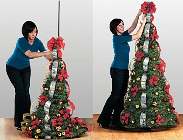 Thomas Kinkade Pre Lit Pull Up 6 Feet Christmas Tree Wondrous Winter