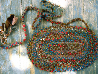 5 Diffe Techniques For Rag Rugs Braided Crocheted Loom Hand Woven