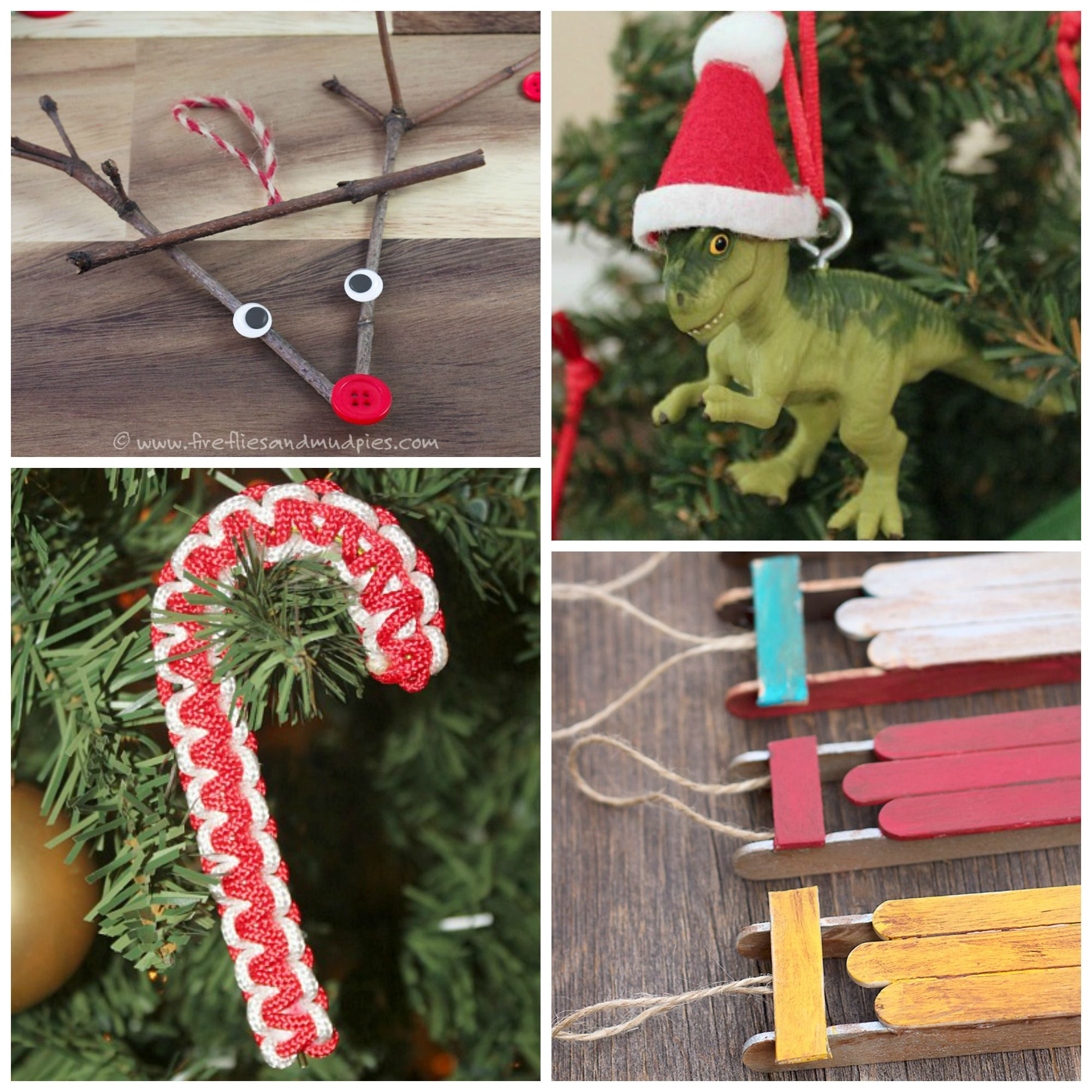 Boy approved christmas ornaments for kids to make christmas