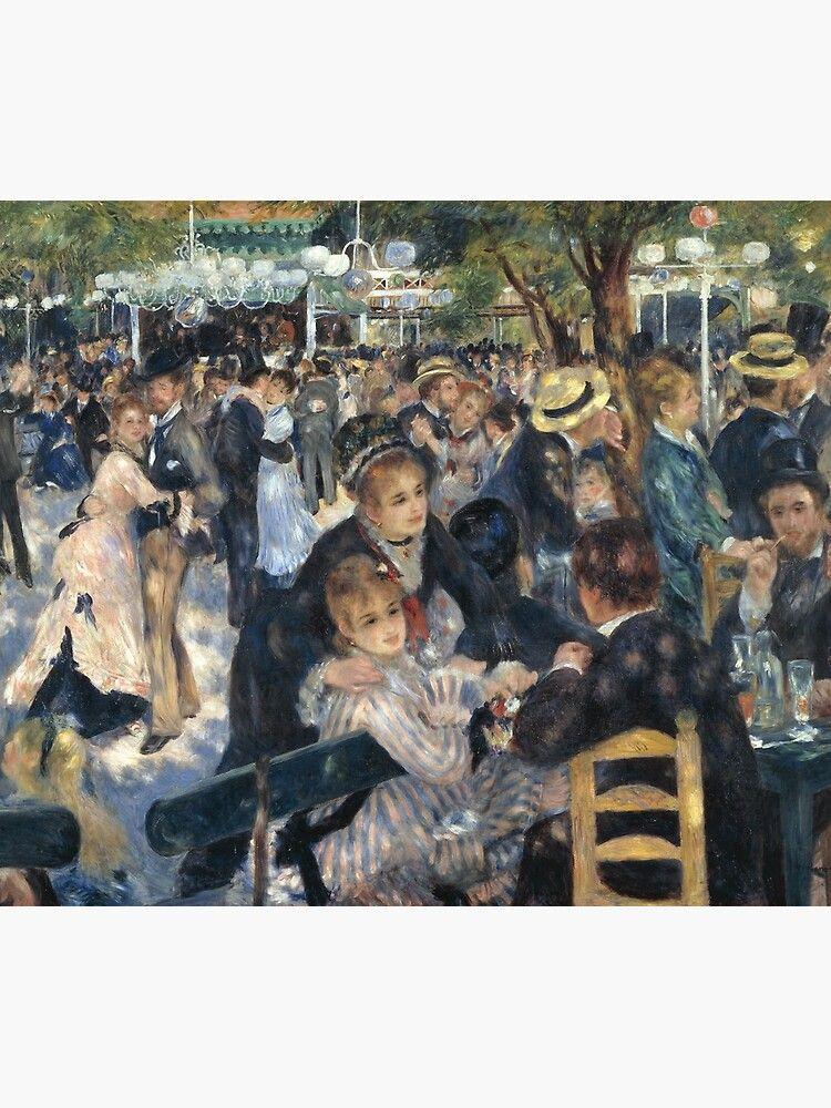 Le Bal Du Moulin De La Galette : moulin, galette, Moulin, Galette, Painting, Auguste, Renoir