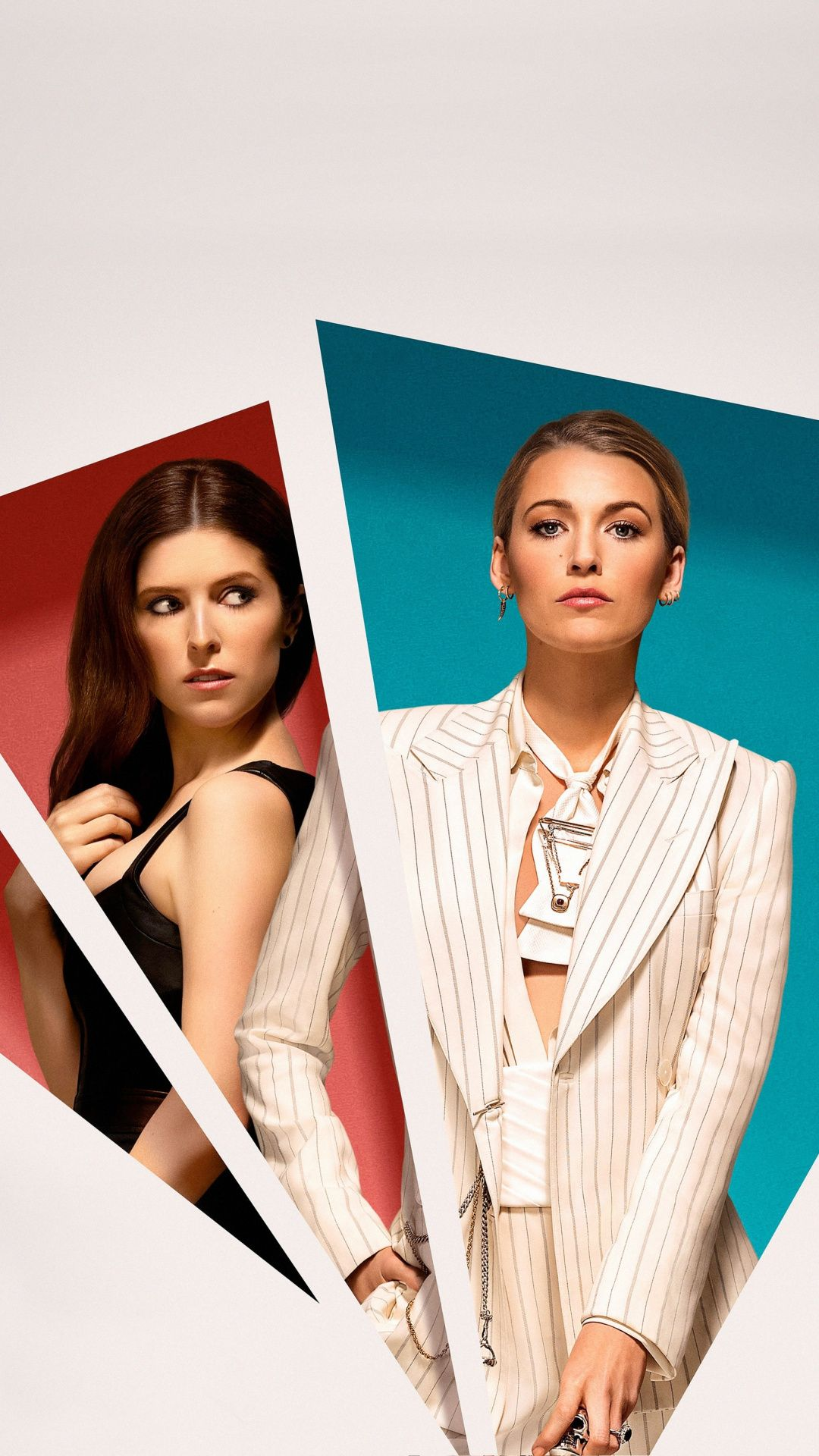 A Simple Favor Anna Kendrick Blake Lively 2018 Movie Wallpaper Blake Lively Movie Wallpapers Anna Kendrick