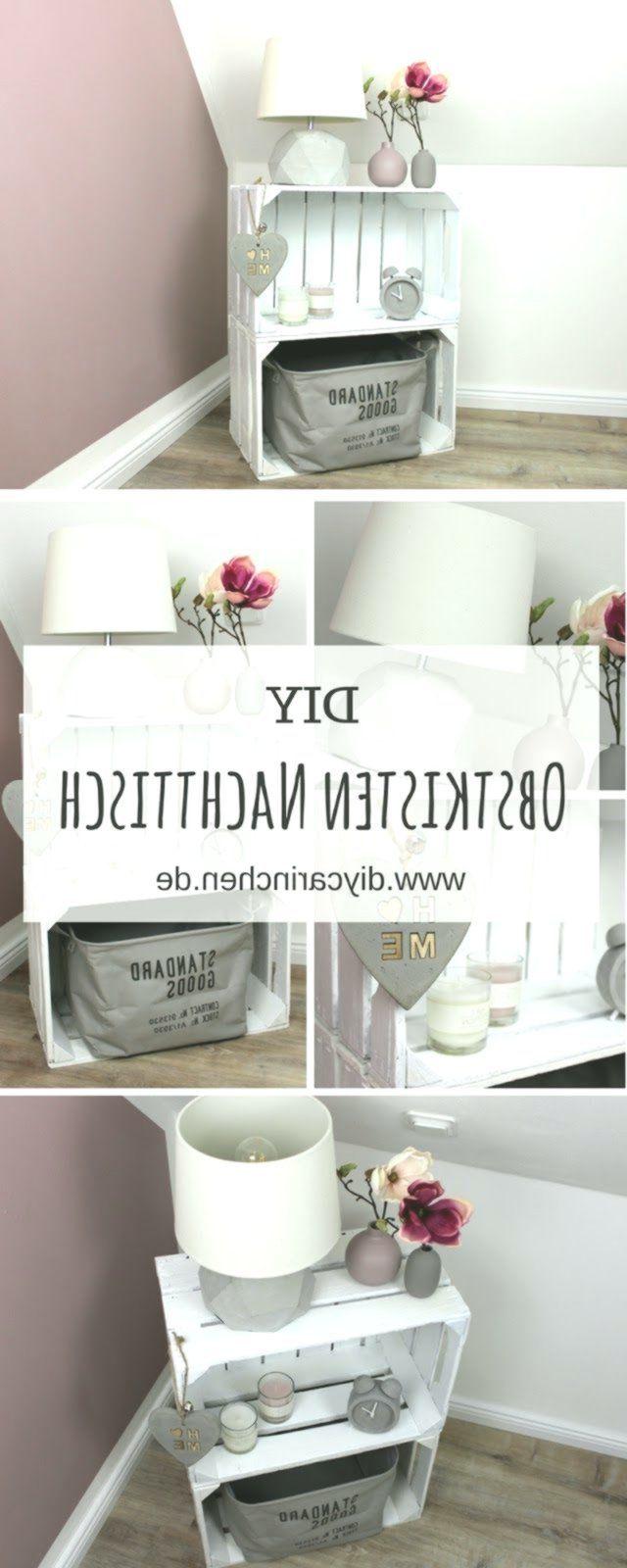 DIY furniture to build yourself: bedside table / bedside ...