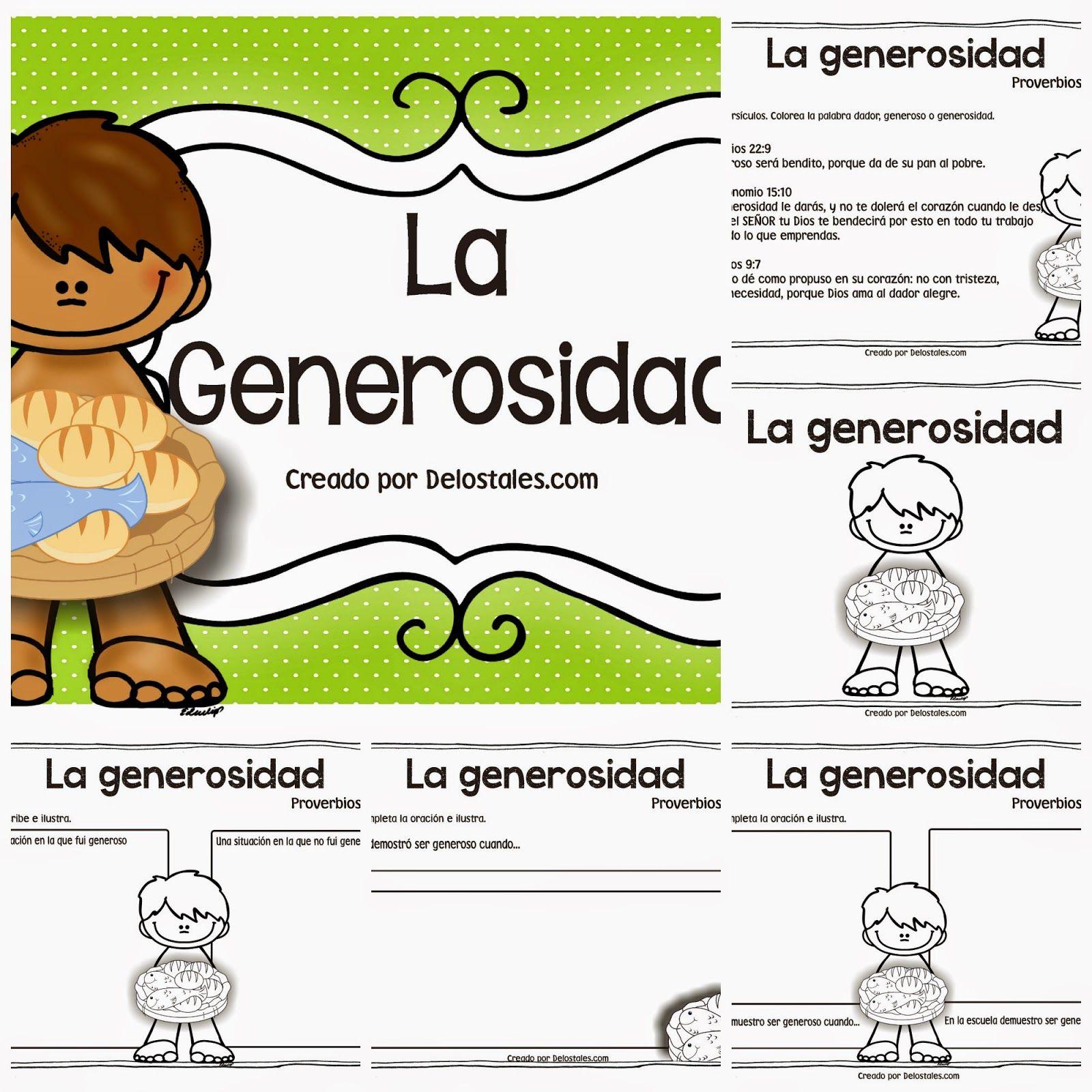la+generosidad+pack+preview.jpg (1600×1600) | emociones | Pinterest ...