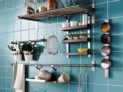 Kitchen Designs, Blue Picture Colors Kitchen Storage Ideas Large Small  Place Appliances On The Wall Picture Nice White Color Nice Picture Good:  Make Our ...