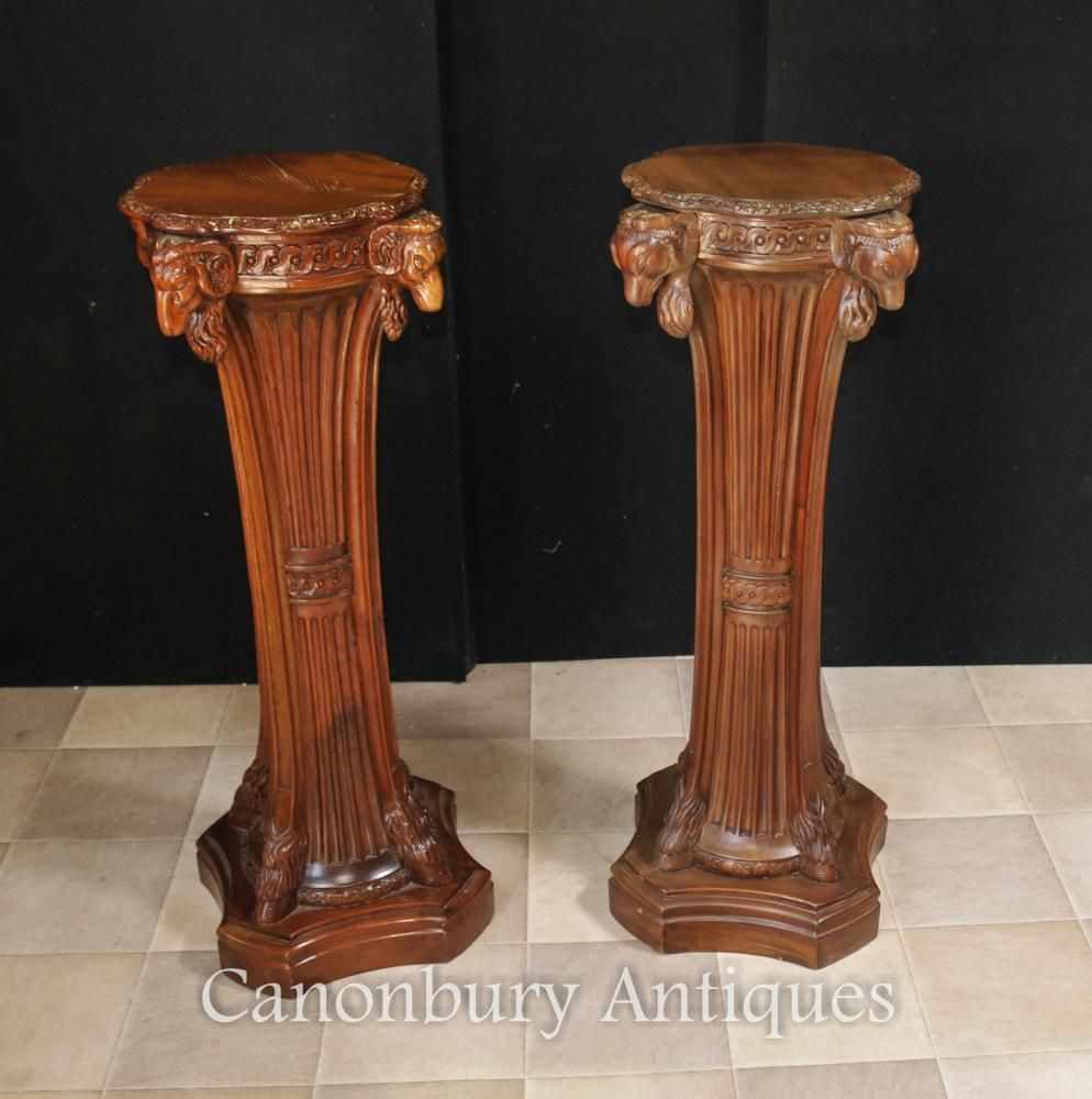 one pedestal collections select cafiero drawer pair asian tables of desks products stands home elmwood century