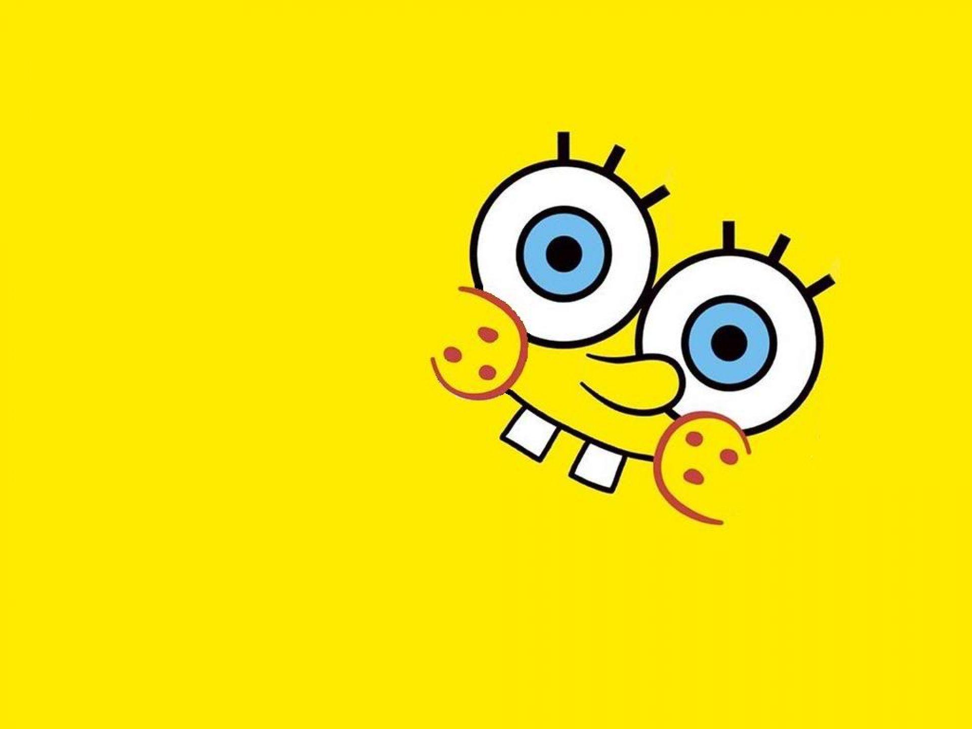 Spongebob Face Yellow Background Wallpaper Spongebob Wallpaper Cute Wallpapers Spongebob
