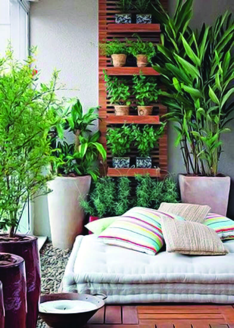 Extraordinary Small Apartment Balcony Garden Ideas India Just On Shopy Home Design Small Balcony Garden Apartment Balcony Garden Balcony Garden