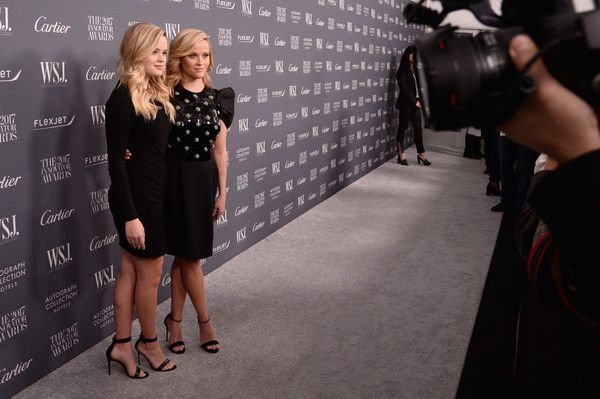 Ava Phillippe and Reese Witherspoon attend the WSJ. Magazine 2017 Innovator Awards at MOMA on November 1, 2017 in New York City.