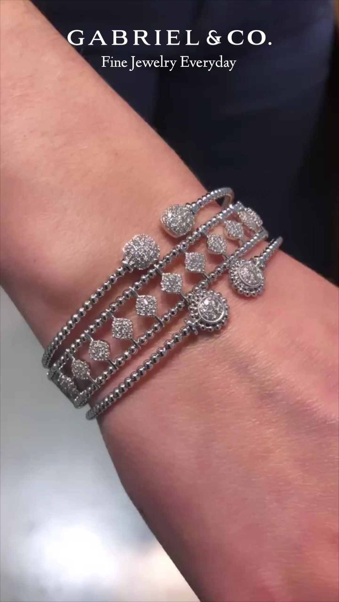 7720d163aa281 Stay on trend with stylish Gabriel & Co. charm bracelets, cuffs and ...