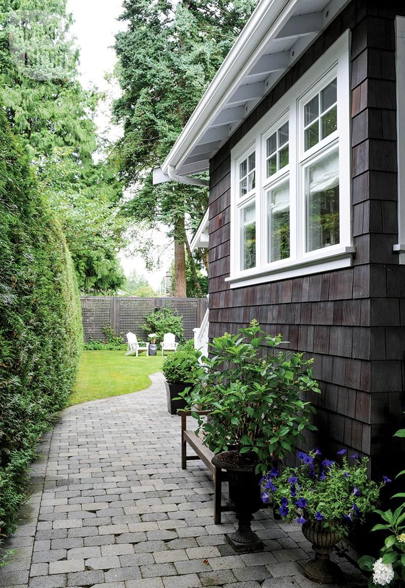 Home garden style  House tour Craftsmanstyle home  Outdoor decor Stone and