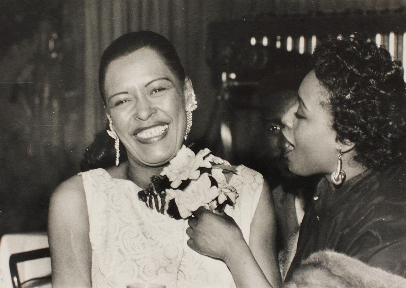 A rare photo of lady day taken on april 7 1957 her 42nd